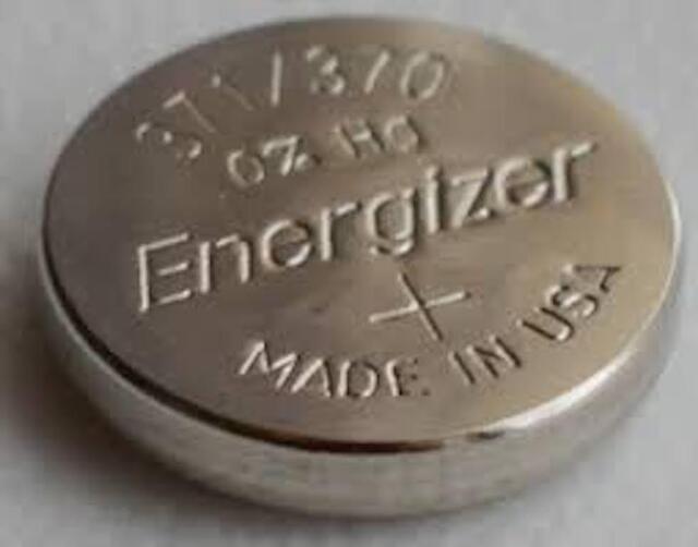 371/370-1 Quantity Energizer Battery  SR920SW  SR920W V371-From Bulk but sealed.