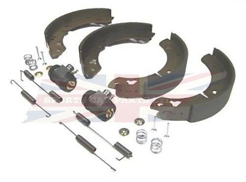 New Rear Brake Kit w Wheel Cylinders Hardware MGB GT 1968-1974 Shoes