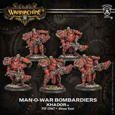 Warmachine BNIB - Khador Man-o-War Bombardiers  PLASTIC