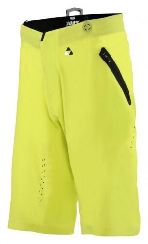 100/% CELIUM solido Pantaloncini-ASTRO GIALLO-MOUNTAIN BIKE Baggy MTB TRAIL ENDURO