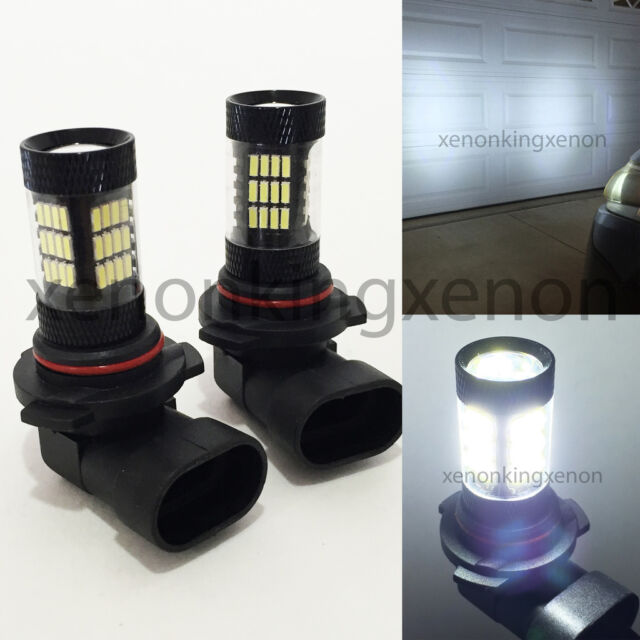 Combo 9006-HB4 9005-HB3 Samsung LED 42 SMD High//Low Beam White #x1 Light Bulbs