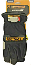 Ironclad Workforce Glove Medium 9 Grayblack Pair Wfg 03 M