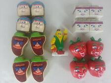 McDonalds Happy Meal 4 Complete Toy Sets + 1 U3 Corn 1993 FOOD FUNDAMENTALS