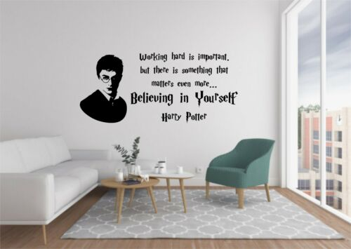 Harry Potter Vinyl Wall Decals Quote Home Decor Bedroom  Wall Stickers WALL ART