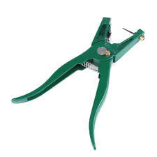 Ear Tag Pliers Livestock Animal With Spare Pin Puncher Plier Non Slip Handle