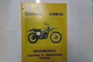 KAWASAKI-KX125-A3-ASSEMBLY-amp-PREPARATION-MANUAL