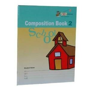 Composition Book 2, School (Fundations, Wilson Learning Basics, Level 2) - GOOD