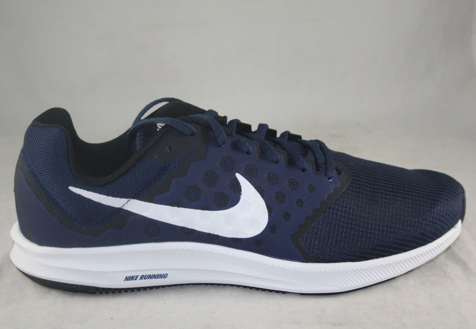 NIKE DOWNSHIFTER 7 MIDNIGHT NAVY WHITE 852459-400 RUNNING SNEAKERS SIZE 11