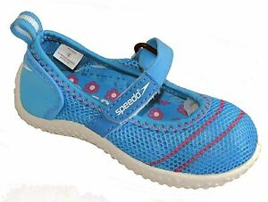 e618809c665 Speedo Toddler Girls Mary Jane Water Shoes Blue SIZE 5   6 NEW ...