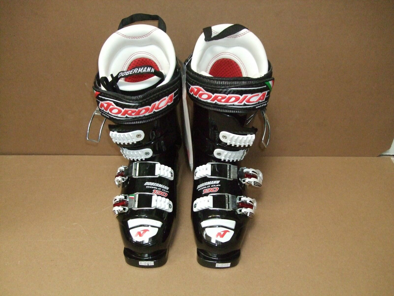 Nordica Doberman World Cup 130 Ski Boots (size 25) - New condition