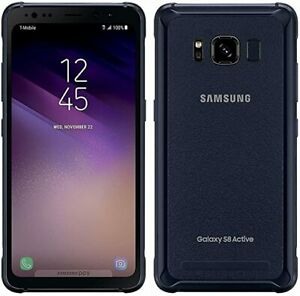 Samsung-Galaxy-S8-Active-64GB-GSM-Unlocked-Smartphones-Clean-LCD-Clean-IMEI