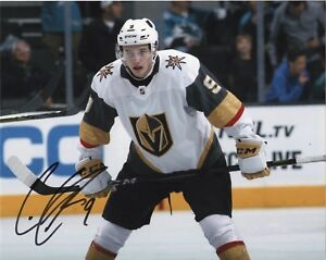 Vegas-Golden-Knights-Cody-Glass-Autographed-Signed-8x10-Photo-COA