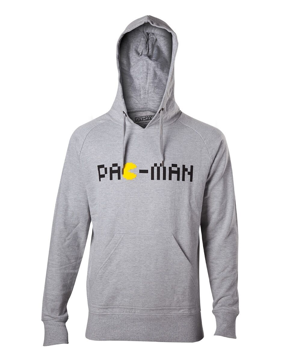 Pac-Man - Classic Logo Hooded Sweater [Different Sizes] (NEW)