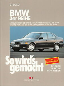 BMW-3er-E36-Reparaturanleitung-So-wirds-gemacht-Etzold-Reparatur-Buch-Handbuch