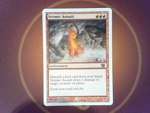 Seismic Assault - 8th Edition - Magic the Gathering - Tracked