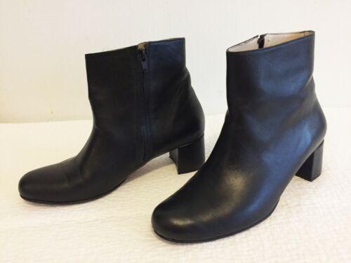 $595 Maryam Nassir Zadeh Louisa black leather boot