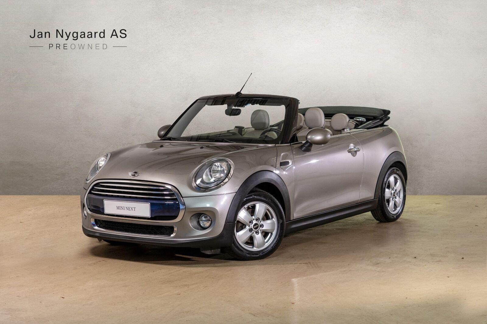 Mini Cooper 1,5 Cabriolet 2d - 259.000 kr.