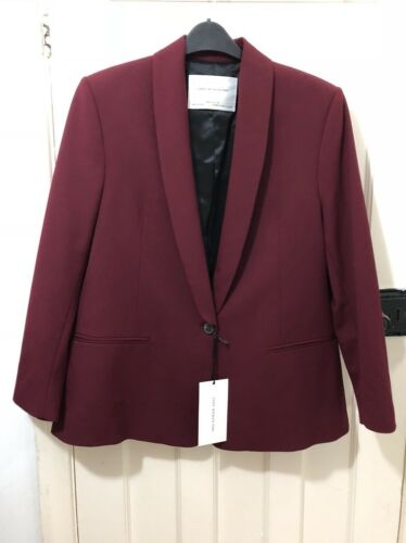 693 Studio Xs Tuxedo 99 Bnwt Ref With s 8033 Rrp£99 Size Zara Blazer Collar 1qUqxPf