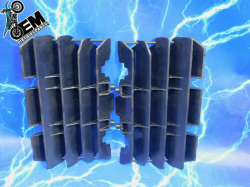 OEM HONDA Crf150r Crf150 RB BLACK RADIATOR GUARDS SCREEN SHIELD LOUVER PLASTIC
