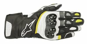 GUANTI-MOTO-ALPINESTARS-SP-2-V2-GLOVES-BLACK-WHITE-YELLOW-FLUO-PROT-CERTIFICATE