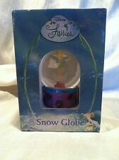 Collectible Disney Fairies Tinker Bell Snow Globe 80 mm Handcrafted New In Box