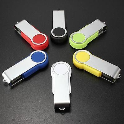 16GB 32GB USB 2.0 Swivel Flash Memory Stick Pen Drive Storage Thumb U Disk Lot