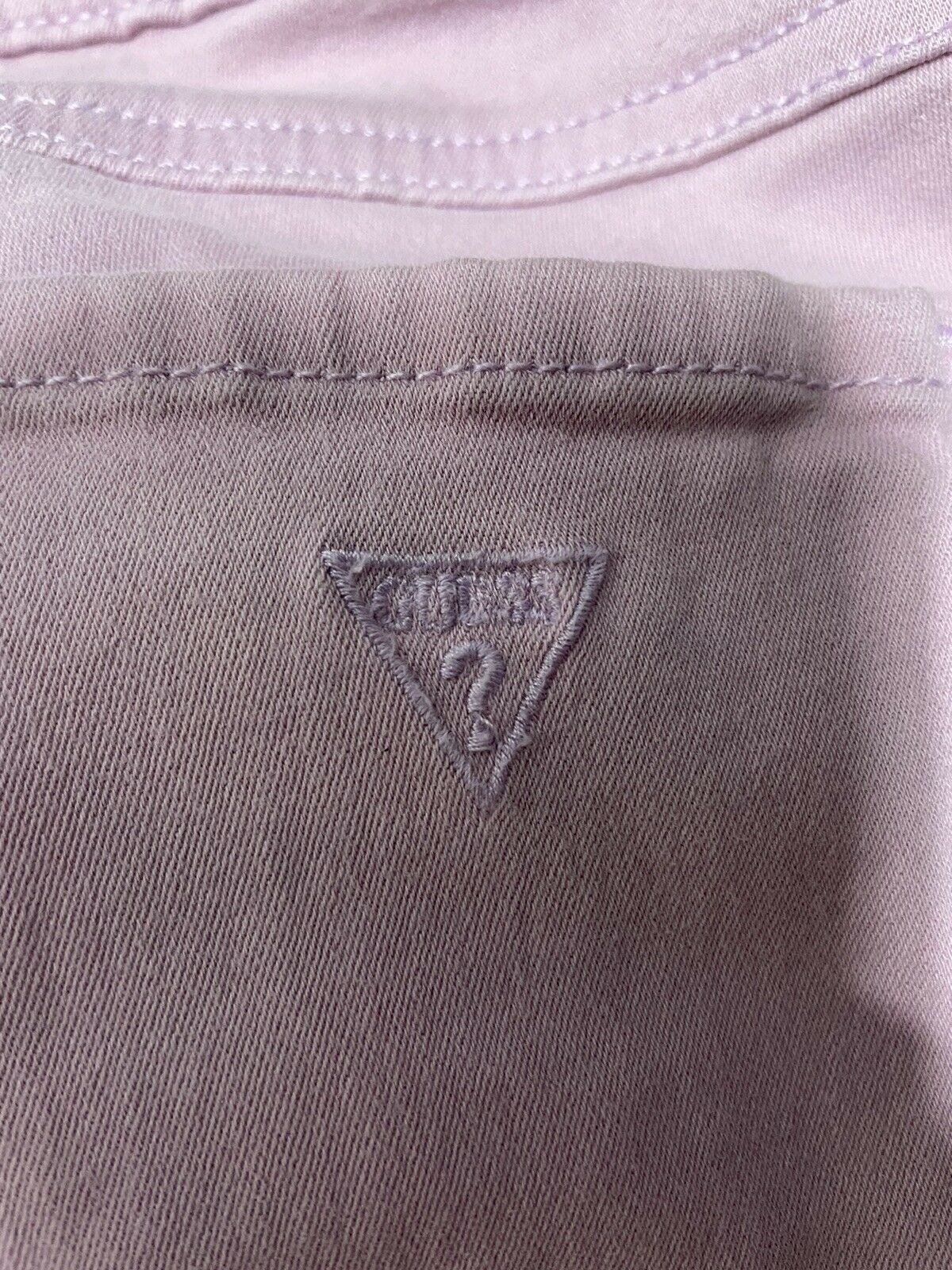 Womens Guess Britney Skinny Jeans Pink Size 27  - image 7