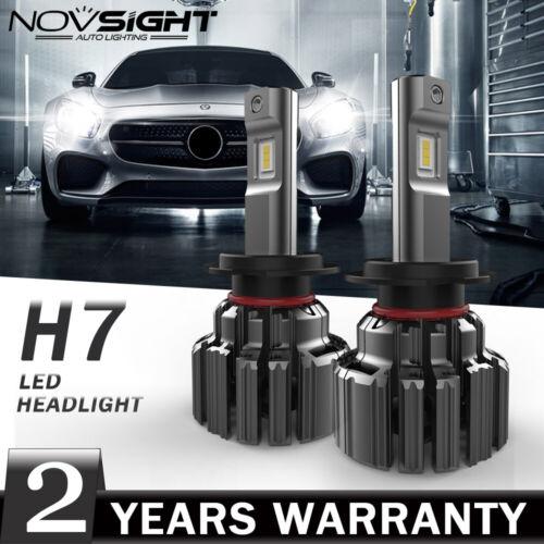 NOVSIGHT H7 LED 90W 14400LM Scheinwerfer Birne Kit Hi//Low Beam Lampen 6000K Weiß