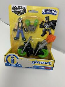 Fisher-Price-Imaginext-DC-Streets-of-Gotham-City-Bane-amp-Motorcycle-Box-Wear