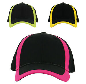 505f49cd0aa Cotton Baseball Cap Black - Neon Accent Protective headwear NIKWAX ...
