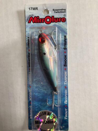 Mirrorlure Suspending Boat Fishing Fish Bait Lure Treble Hooks 17 Series..Choose