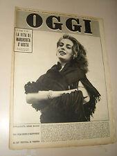 OGGI=1953/36=ANNA MARIA FERRERO=GIANNELLA DE MARCO=LUIGI POLETTI=ALFRED KINSEY=