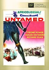 UNTAMED (1955 Tyrone Power, Susan Hayward) - Region Free DVD - Sealed