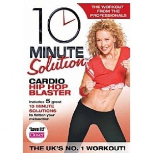 1 of 1 - 10 Minute Solution - Cardio Hip Hop Blaster (DVD, 2012)