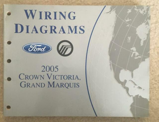 2005 Ford Crown Victoria Grand Marquis Wiring Diagrams Oem