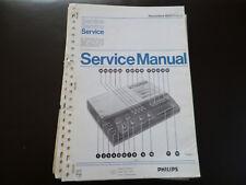 Original Service Manual Philips N 2511