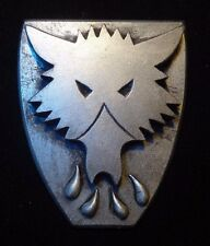 40k Space Wolf Bran Redmaw  company badge pin
