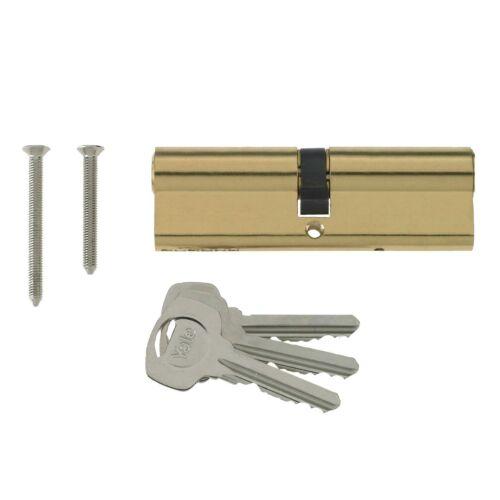 Yale Euro Cylinder Barrel UPVC Door Lock Anti Drill for PVC /& Aluminium Doors