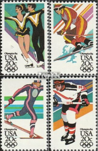 U.S. 16711674 mint never hinged mnh 1984 Olympics Winter Games