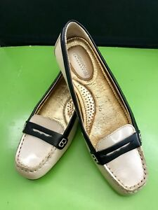 Womens Champagne Patent Leather Sperry Topsider Slip On ...