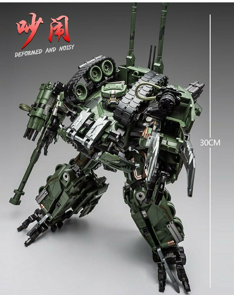 New Weijiang Transformers Movie Leader Class Brawl Tank Figure ChristmasGift