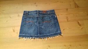 Jeans-Rock-Mini-Gr-34