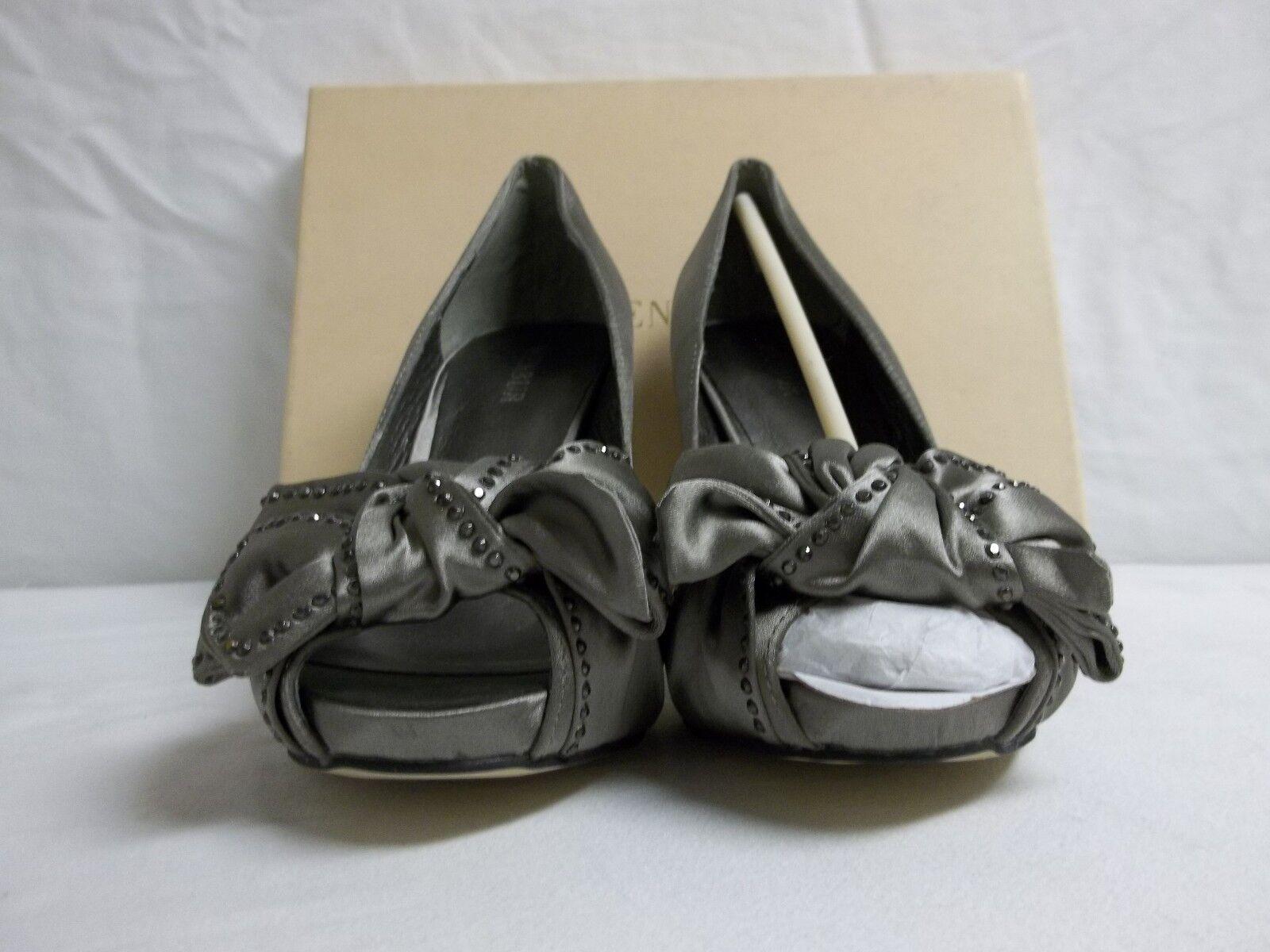 Menbur Size EU 38 US 7.5 M Gurk Cement Cement Cement Open Toe Pumps New Womens shoes 697db6