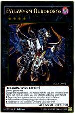 1x YuGiOh Evilswarm Ouroboros  - PGL3-EN072 - Gold Rare Near Mint