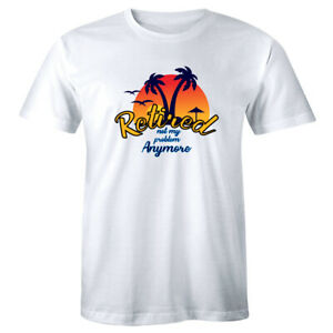 Retired-Not-My-Problem-Anymore-Men-039-s-T-Shirt-Tropical-Retirement-Vacation-Shirt
