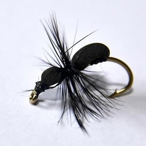 ADAMS IRRESISTIBLE Dry Trout /& Grayling fly Fishing flies by Dragonflies