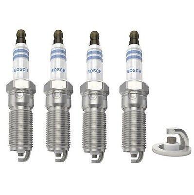 Spark Plugs x 4 Bosch Iridium LPG Only Fits Ford Focus Fiesta Ka Mondeo Mazda
