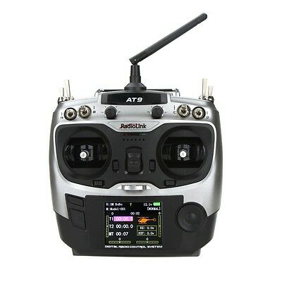 Radiolink AT9 2.4GHz 9 Channel Transmitter Radio & Receiver for RC Hobby Mode 2