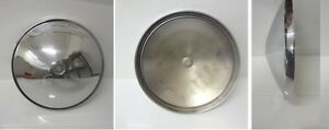 Borchia coppa coperchio ruota - cup lid wheel stud FIAT STD 500 epoca vintage