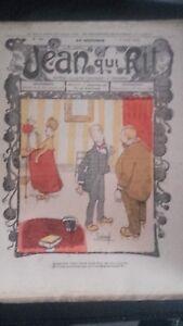 Rivista Jeans Che Rit N° 390 1908 Giornale Illustre che Appaiono Il Venerdì ABE